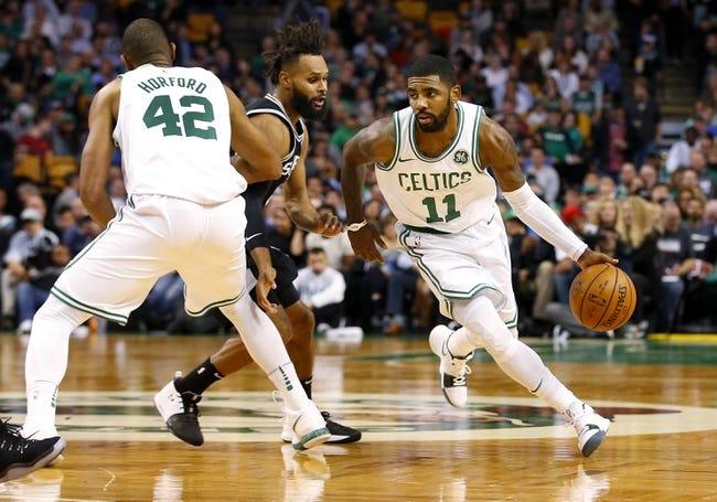 San Antonio Spurs vs. Boston Celtics - 12/8/17 NBA Pick, Odds, and Prediction