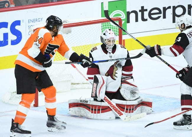 Arizona Coyotes vs. Philadelphia Flyers - 2/10/18 NHL Pick, Odds, and Prediction