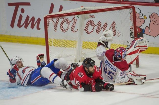 Montreal Canadiens vs. Ottawa Senators - 11/29/17 NHL Pick, Odds, and Prediction