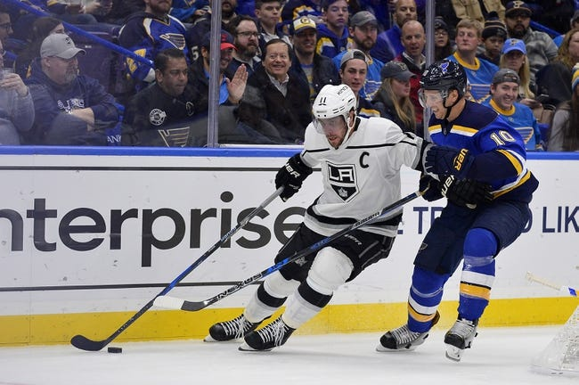 St. Louis Blues vs. Los Angeles Kings - 12/1/17 NHL Pick, Odds, and Prediction