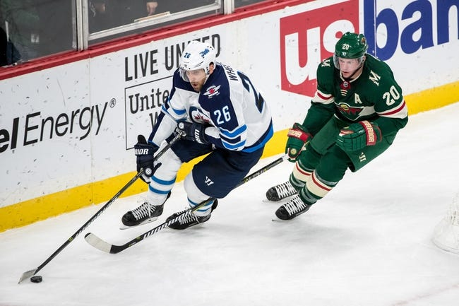 Winnipeg Jets vs. Minnesota Wild - 11/27/17 NHL Pick, Odds, and Prediction