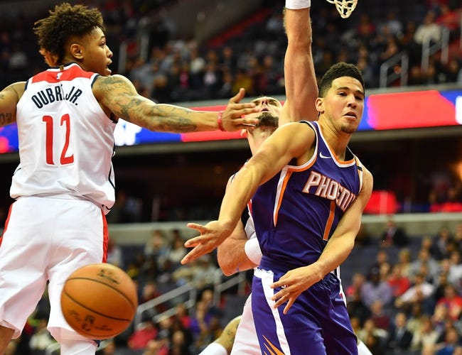 Phoenix Suns vs. Washington Wizards - 12/7/17 NBA Pick, Odds, and Prediction