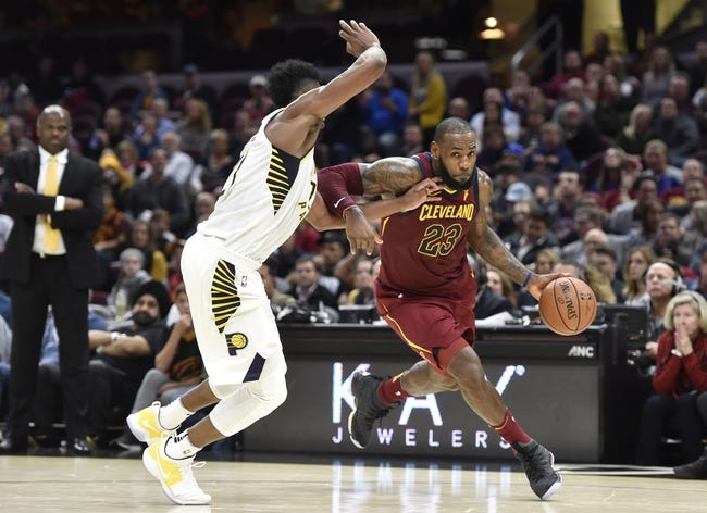 Indiana Pacers vs. Cleveland Cavaliers - 12/8/17 NBA Pick, Odds, and Prediction