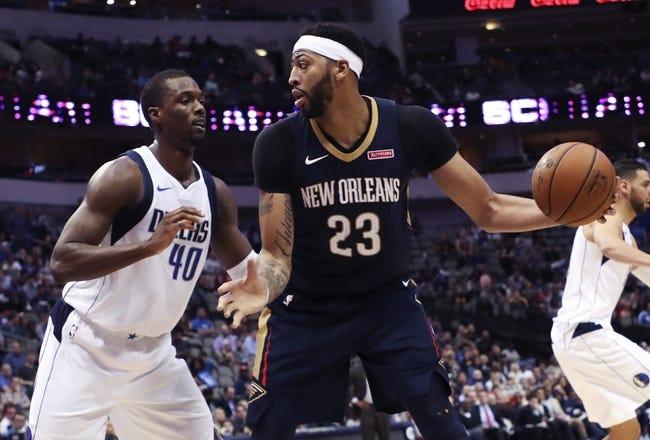 New Orleans Pelicans vs. Dallas Mavericks - 12/29/17 NBA Pick, Odds, and Prediction