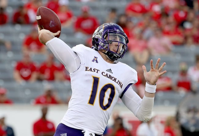East Carolina vs. Cincinnati - 11/18/17 College Football Pick, Odds, and Prediction