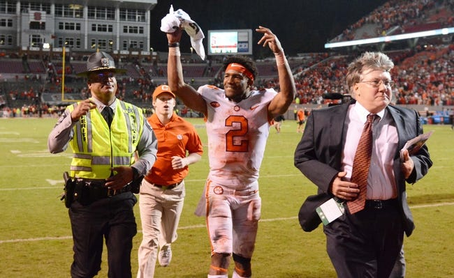 Florida State at Clemson - 11/11/17 College Football Pick, Odds, and Prediction