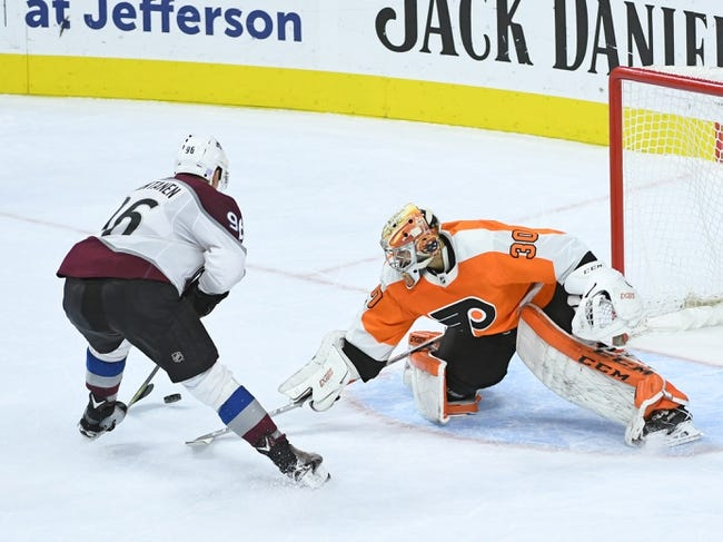 NHL | Philadelphia Flyers (38-25-13) at Colorado Avalanche (41-27-8)