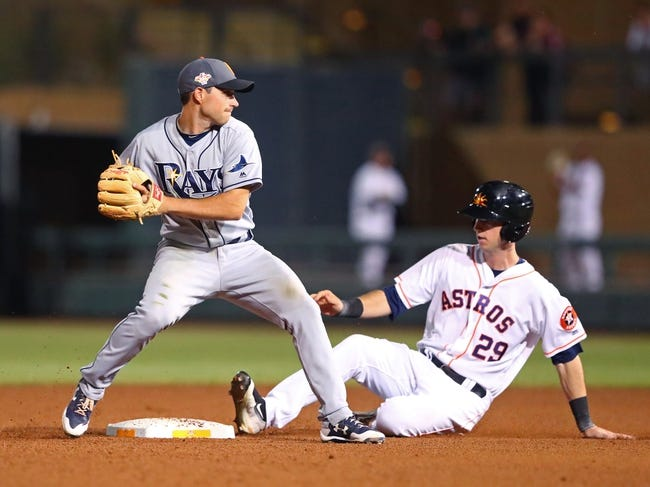 Houston Astros vs. Tampa Bay Rays - 6/18/18 MLB Pick, Odds, and Prediction