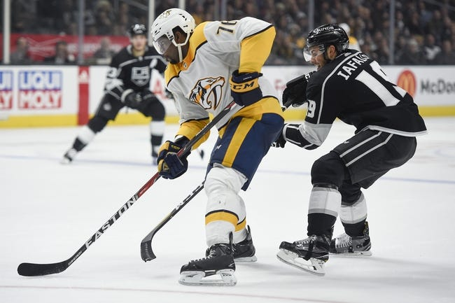 Los Angeles Kings vs. Nashville Predators - 1/6/18 NHL Pick, Odds, and Prediction