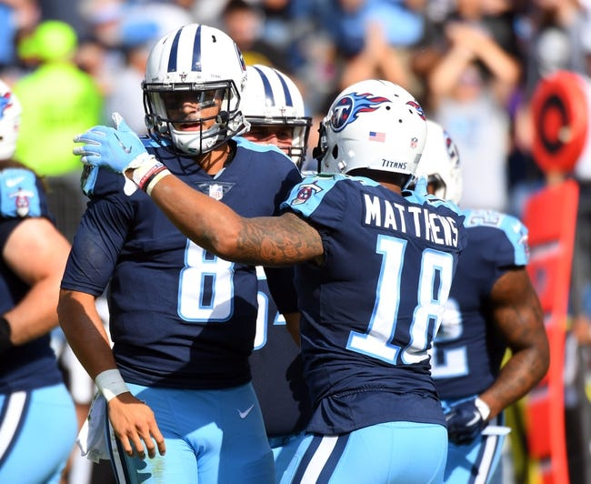 Cincinnati Bengals at Tennessee Titans - 11/12/17 NFL Pick, Odds, and Prediction