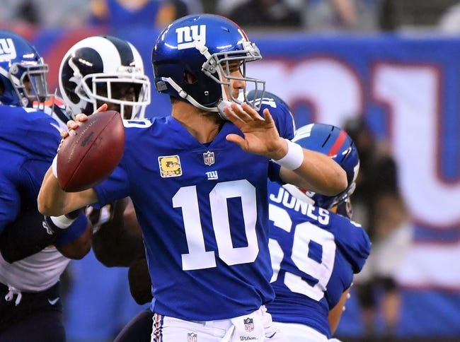 San Francisco 49ers vs. New York Giants - 11/12/17 NFL Pick, Odds, and Prediction