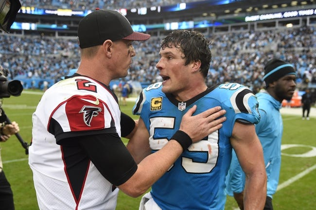 Carolina Panthers at Atlanta Falcons - 12/31/17 NFL Pick, Odds, and Prediction