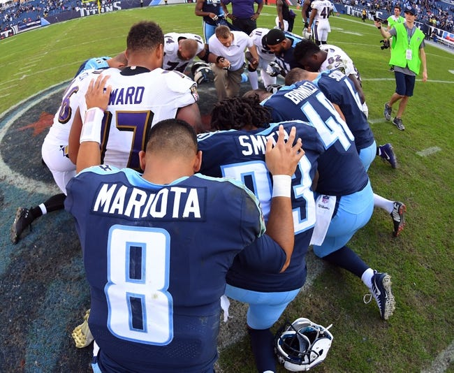 Baltimore Ravens at Tennessee Titans - 10/14/18 NFL Pick, Odds, and Prediction