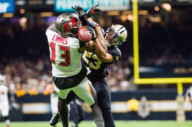 New Orleans Saints at Tampa Bay Buccaneers - 12/31/17 NFL Pick, Odds, and Prediction