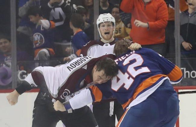 Colorado Avalanche vs. New York Islanders - 12/31/17 NHL Pick, Odds, and Prediction