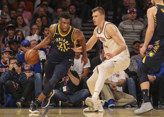 Indiana Pacers vs. New York Knicks - 12/4/17 NBA Pick, Odds, and Prediction