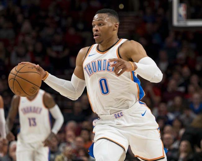 Oklahoma City Thunder vs. Portland Trail Blazers - 1/9/18 NBA Pick, Odds, and Prediction