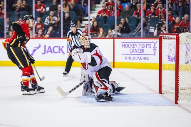 New Jersey Devils vs. Calgary Flames - 2/8/18 NHL Pick, Odds, and Prediction