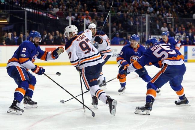 Edmonton Oilers vs. New York Islanders - 3/8/18 NHL Pick, Odds, and Prediction