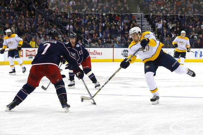 Nashville Predators vs. Columbus Blue Jackets - 4/7/18 NHL Pick, Odds, and Prediction