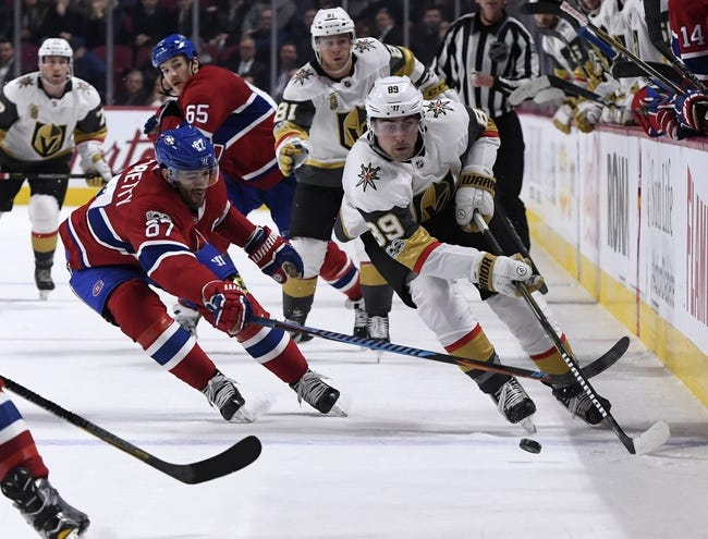 Vegas Golden Knights vs. Montreal Canadiens - 2/17/18 NHL Pick, Odds, and Prediction