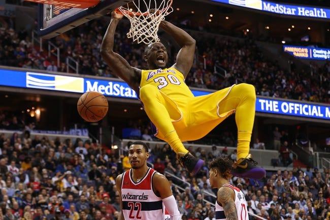 NBA   Los Angeles Lakers (18-11) at Washington Wizards (11-18)