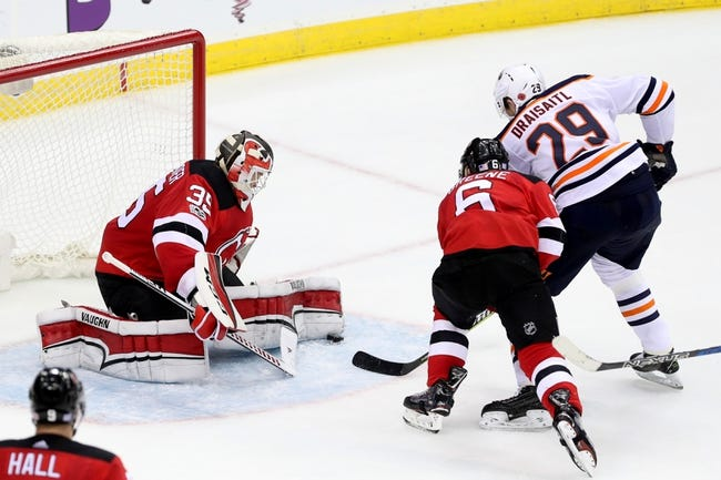 NHL | New Jersey Devils at Edmonton Oilers