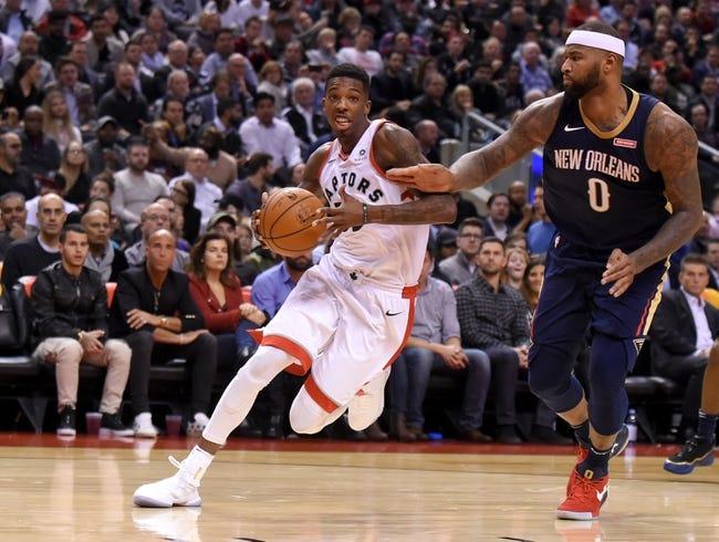 New Orleans Pelicans vs. Toronto Raptors - 11/15/17 NBA Pick, Odds, and Prediction