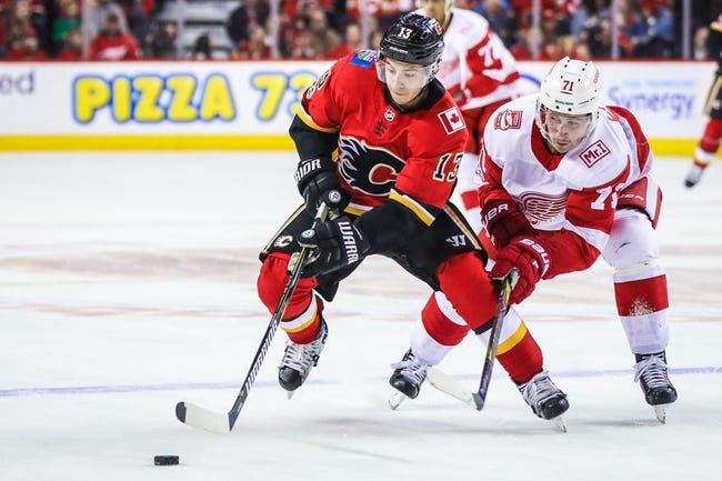 Detroit Red Wings vs. Calgary Flames - 11/15/17 NHL Pick, Odds, and Prediction