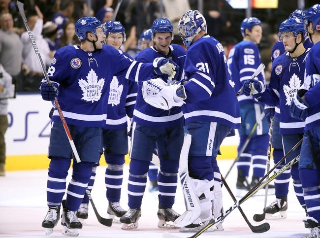 Boston Bruins vs. Toronto Maple Leafs - 11/11/17 NHL Pick, Odds, and Prediction