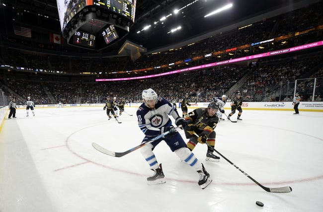 Winnipeg Jets vs. Las Vegas Golden Knights - 12/1/17 NHL Pick, Odds, and Prediction