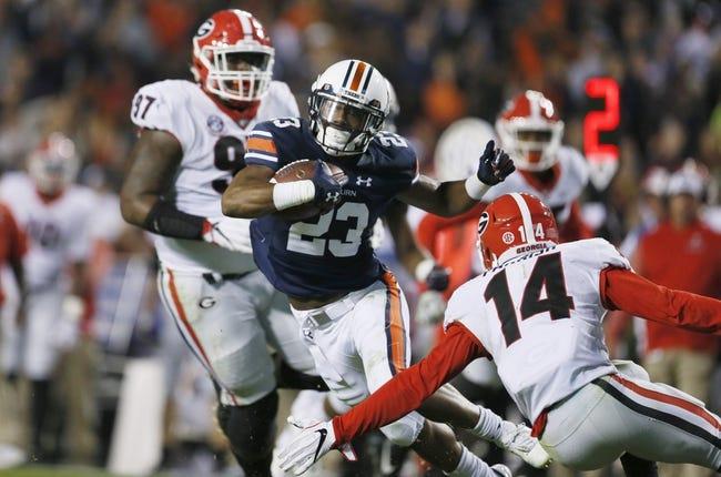 Auburn vs. Georgia SEC Championship - 12/2/17 College Football Pick, Odds, and Prediction