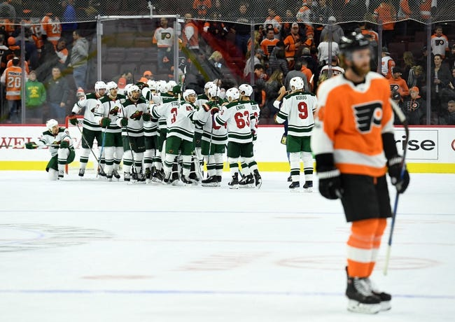 Minnesota Wild vs. Philadelphia Flyers - 11/14/17 NHL Pick, Odds, and Prediction