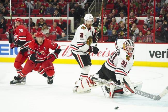 Chicago Blackhawks vs. Carolina Hurricanes - 3/8/18 NHL Pick, Odds, and Prediction