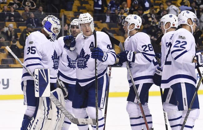 Boston Bruins vs. Toronto Maple Leafs - 2/3/18 NHL Pick, Odds, and Prediction