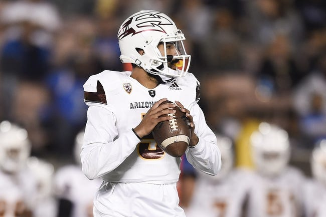 Oregon State vs. Arizona State - 11/18/17 College Football Pick, Odds, and Prediction