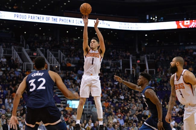 Minnesota Timberwolves vs. Phoenix Suns - 11/26/17 NBA Pick, Odds, and Prediction