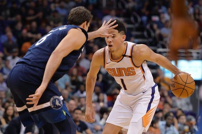 Phoenix Suns at Minnesota Timberwolves - 11/26/17 NBA Pick, Odds, and Prediction