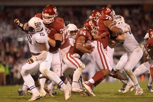 Oklahoma vs. TCU Big 12 Championship- 12/2/17 College Football Pick, Odds, and Prediction