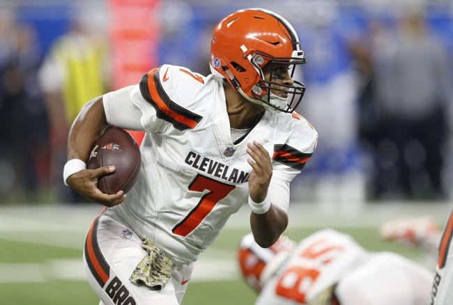 Cleveland Browns vs. Jacksonville Jaguars - 11/19/17 NFL Pick, Odds, and Prediction