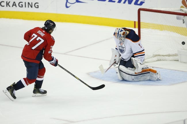 Edmonton Oilers vs. Washington Capitals - 10 25 18 NHL Pick 0f9689e3038