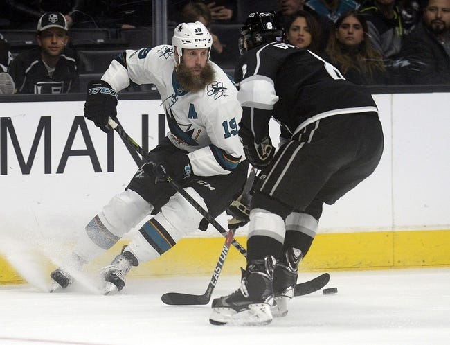 San Jose Sharks vs. Los Angeles Kings - 12/23/17 NHL Pick, Odds, and Prediction