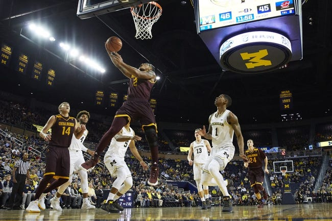 Central Michigan vs. Ohio - 1/2/18 College Basketball Pick, Odds, and Prediction
