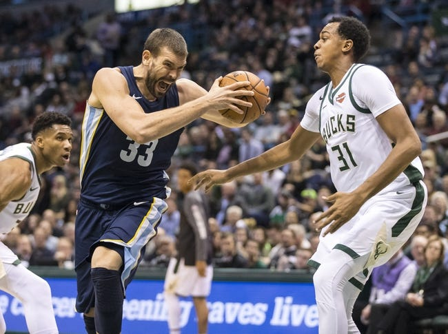 Memphis Grizzlies vs. Milwaukee Bucks - 3/12/18 NBA Pick, Odds, and Prediction