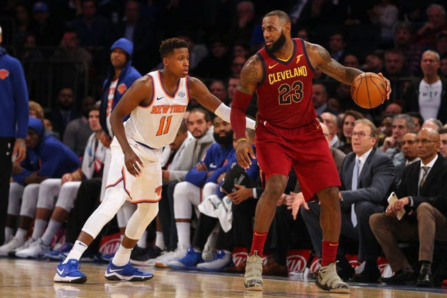 New York Knicks vs. Cleveland Cavaliers - 4/9/18 NBA Pick, Odds, and Prediction