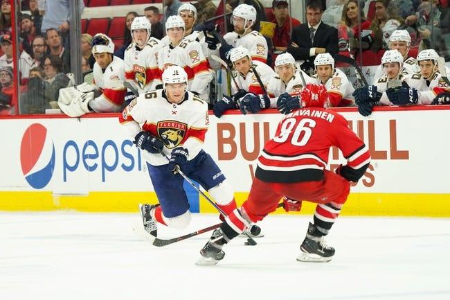 Carolina Hurricanes vs. Florida Panthers - 12/2/17 NHL Pick, Odds, and Prediction