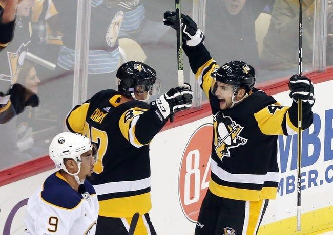 Buffalo Sabres vs. Pittsburgh Penguins - 12/1/17 NHL Pick, Odds, and Prediction