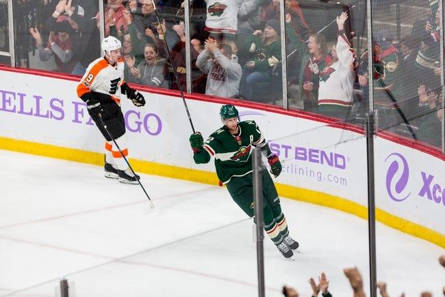 NHL | Minnesota Wild at Philadelphia Flyers