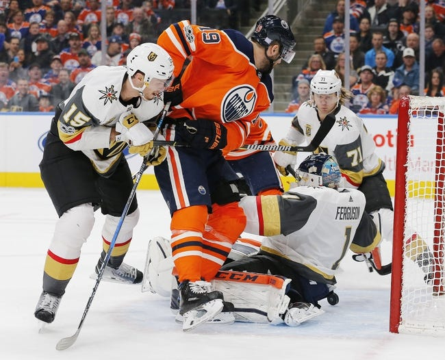 Vegas Golden Knights vs. Edmonton Oilers - 2/15/18 NHL Pick, Odds, and Prediction