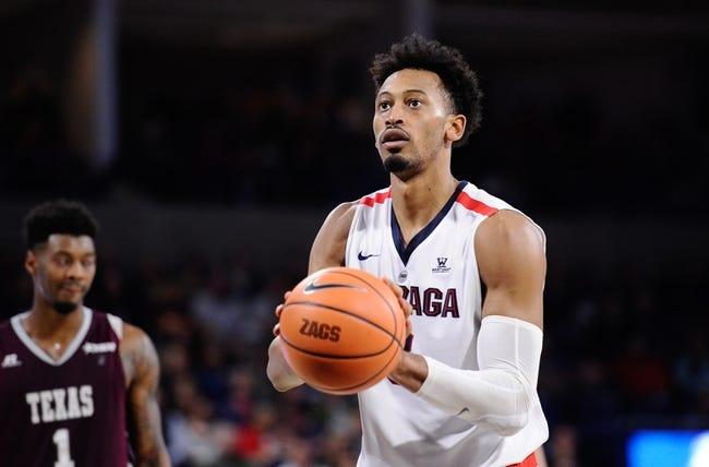 Gonzaga vs. Creighton - 12/1/17 College Basketball Pick, Odds, and Prediction